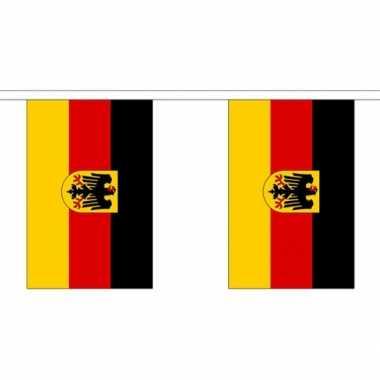 Stoffen vlaggenlijn Duitsland 3 meter