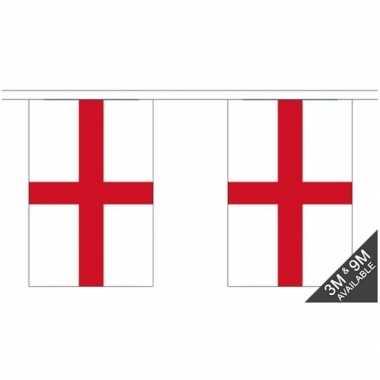 Stoffen vlaggenlijn engeland st george 3 meter