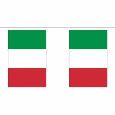 Stoffen vlaggenlijn Italie 3 meter