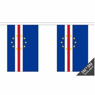 Stoffen vlaggenlijn kaap verdi 3 meter
