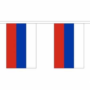 Stoffen vlaggenlijn Rusland 3 meter