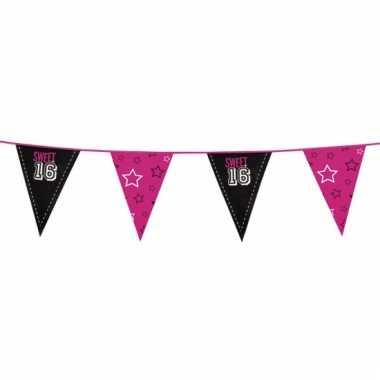 Sweet 16 meiden vlaggenlijn