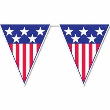 USA vlaggenlijn 4 meter