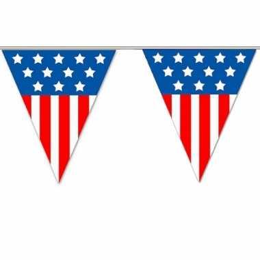 USA vlaggenlijnen 5 meter