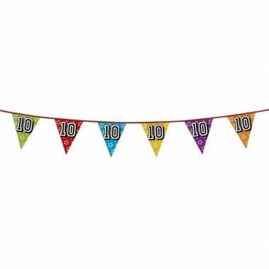 Vlaggenlijn 10 jaar feestje