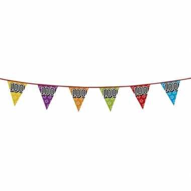 Vlaggenlijn 100 jaar feestje