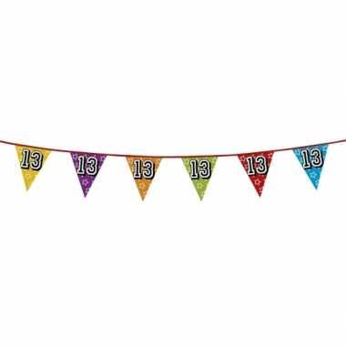 Vlaggenlijn 13 jaar feestje