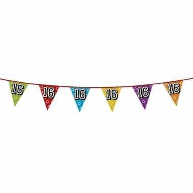 Vlaggenlijn 16 jaar feestje