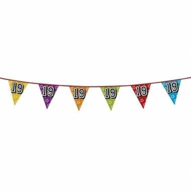 Vlaggenlijn 19 jaar feestje
