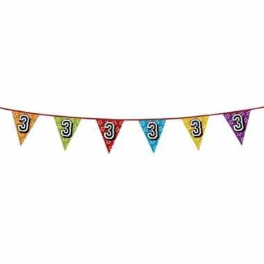 Vlaggenlijn 3 jaar feestje