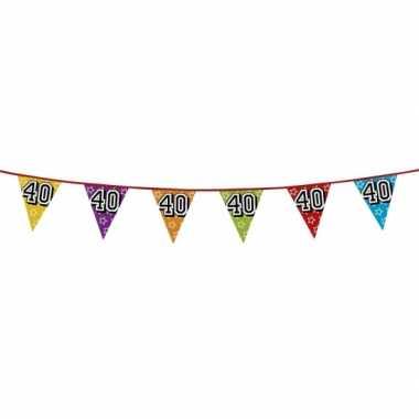 Vlaggenlijn 40 jaar feestje