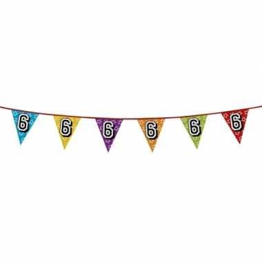 Vlaggenlijn 6 jaar feestje