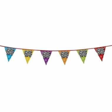 Vlaggenlijn 65 jaar feestje