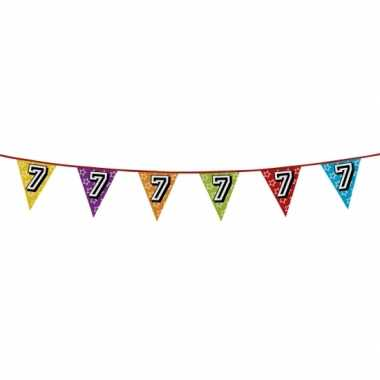 Vlaggenlijn 7 jaar feestje