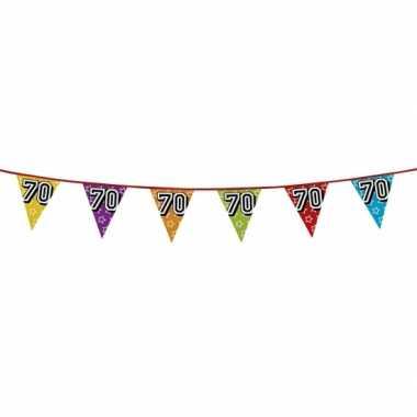 Vlaggenlijn 70 jaar feestje
