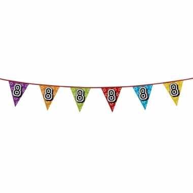 Vlaggenlijn 8 jaar feestje