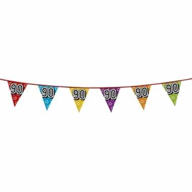 Vlaggenlijn 90 jaar feestje