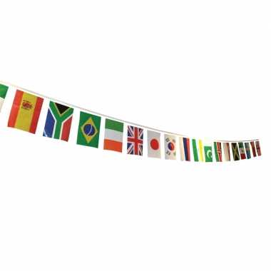Vlaggenlijn multi nation vlaggen