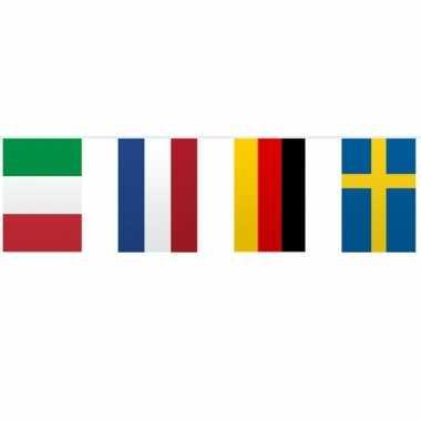 Vlaggetjeslijn Europa 10 meter