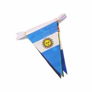 Worldcup voetbal 2018 vlaggenlijn 11.50 meter
