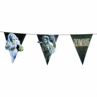Zombie vlaggenlijnen 4 meter
