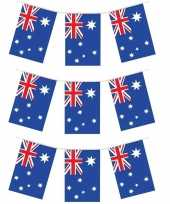 3x australische vlaggenlijnen 4 meter landen decoratie