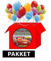 Cars themafeest pakket