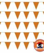 Ek wk koningsdag oranje versiering pakket met oa 300 meter xl oranje vlaggenlijnen vlaggetjes