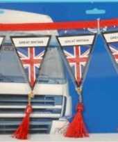 Engeland mini vlaggenlijn 60 cm